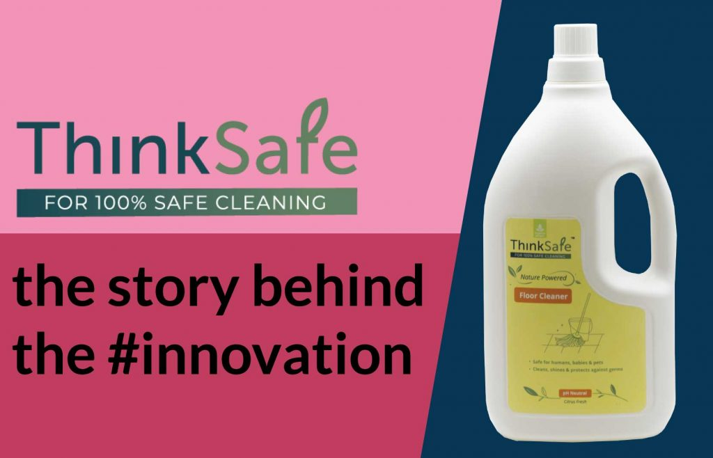 ThinkSafe Organic Floor Cleaner - Natural & Safe