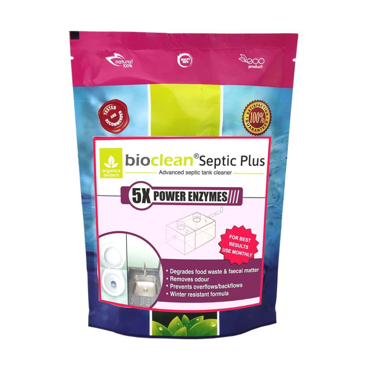 Septic Tank Cleaning enzyme